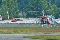 C-FKGU @ CYXX - 1956 Bell 47G-2, c/n: 2183 at Abbotsford