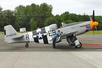 N5087F @ PAE - 1943 American Avia Inc NORTH AMERICAN P-51B, c/n: 42-106638