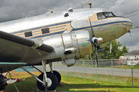 42-57506 @ CYNJ - 1940 Douglas C-49H, c/n: 2198 at Langley Museum BC - by Terry Fletcher