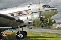42-57506 @ CYNJ - 1940 Douglas C-49H, c/n: 2198 at Langley Museum BC