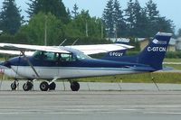 C-GTCN @ CYXX - 1973 Cessna 172M, c/n: 17262070 - by Terry Fletcher