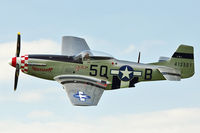 G-MRLL @ EGBK - G-MRLL (413521/5Q-B Marinell), 1943 North American P-51D Mustang, c/n: 109-27154 at 2012 Sywell Airshow
