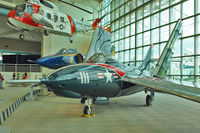 131232 @ BFI - 131232 (D-111), 1954 Grumman F9F-8 Cougar, c/n: 131232 - by Terry Fletcher