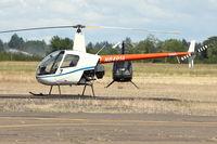 N8491A @ MMV - 1984 Robinson Helicopter R22 ALPHA, c/n: 0404