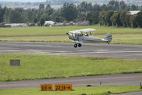 G-AZGE - Approaching Gloucestershire airport, UK - by wdj