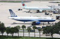 N489UA @ TPA - United A320