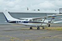 C-GJRZ @ CYNJ - 1962 Cessna 210B, c/n: 21057919