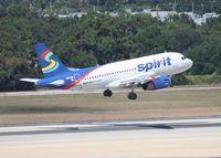 N502NK @ TPA - Spirit A319