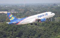 N534NK @ TPA - Spirit A319