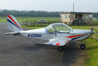 G-CDNG @ EGBS - at Shobdon Airfield, Herefordshire - by Chris Hall