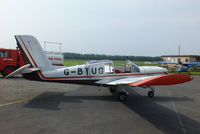 G-BTUG @ EGBS - at Shobdon Airfield, Herefordshire - by Chris Hall