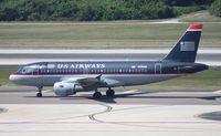 N766US @ TPA - US Airways A319 - by Florida Metal