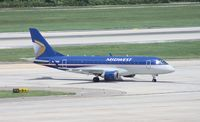 N823MD @ TPA - Midwest E170