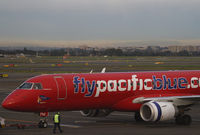 VH-ZPM @ YSSY - Pacificblue Embraer 190 - by Thomas Ranner