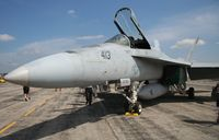 166649 @ YIP - Super Hornet - by Florida Metal
