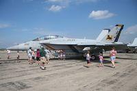 166663 @ YIP - F/A-18F Super Hornet