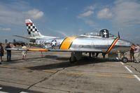 N188RL @ YIP - F-86 Sabre