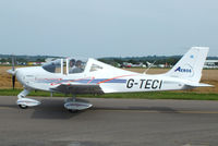 G-TECI @ EGBW - at Wellesbourne Mountford - by Chris Hall
