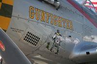 N5428V @ YIP - Gunfighter