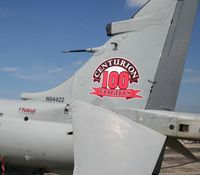 N94422 @ YIP - 100th flight of this privately owned Sea Harrier