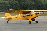 N48612 @ BVS - Piper J3C-65, c/n: 10733