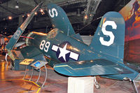 88382 @ BFI - Goodyear FG-1D Corsair, c/n: 3196 at Museum of Flight Seattle - by Terry Fletcher