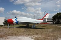 52-6379 - F-84F on display in a small park in Wauchula FL