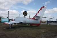 52-6379 - F-84F Thunderstreak along Highway U.S. 17 in Wauchula FL