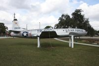 52-9696 - T-33A next to a lake west of Downtown Arcadia FL - by Florida Metal