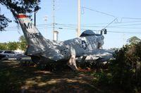52-10057 - F-86D Sabre in Valdosta Georgia