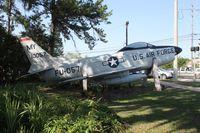 52-10057 - F-86D in Valdosta Georgia
