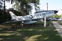 52-10057 - F-86 along Highway 41 in Valdosta Georgia