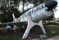 52-10057 - F-86 in Valdosta Georgia