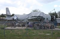 01747 @ DED - Grumman TBF-1 Avenger under restoration - by Florida Metal