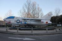 152647 - A-7A Corsair II in High Springs FL school parking lot