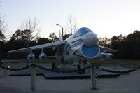 152647 - A-7 Corsair II in parking lot in High Springs FL - by Florida Metal