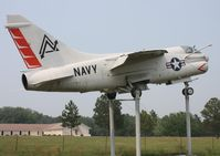 158003 - A-7E Corsair II along I-75 near Lake City FL - by Florida Metal