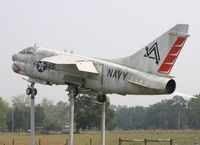 158003 - A-7E Corsair II next to I-75 near Lake City FL - by Florida Metal