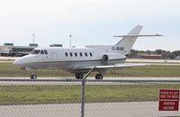 C-GLBJ @ SRQ - Hawker 700 - by Florida Metal