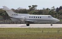 C-GLBJ @ SRQ - Hawker 700A - by Florida Metal