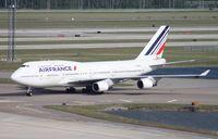 F-GEXB @ MCO - Air France 747