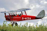 G-ACDA @ EGMJ - Hedge clipper!!!!! - by glider