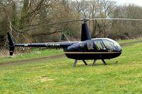 G-CEIM @ EGBC - Robinson R-44 Raven II [11583] Cheltenham Racecourse~G 14/03/2008 - by Ray Barber