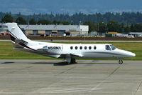 N518MV @ CYVR - 1981 Cessna 551, c/n: 551-0046