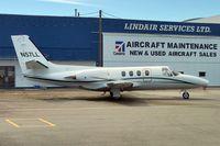 N57LL @ CYVR - 1972 Cessna 500, c/n: 500-0025