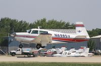 N6985V @ KOSH - Money M20F - by Mark Pasqualino