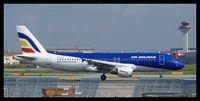 ER-AXV @ EDDF - Take off