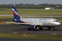 VP-BWA @ EDDL - Aeroflot, Airbus A319-111, CN: 2052, Name: S. Prokofiev - by Air-Micha