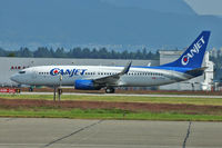 C-FXGG @ CYVR - Canjet's Boeing 737-81Q, c/n: 29051