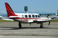 C-GZBO @ CYVR - Piper PA-31-350, c/n: 31-8252048 - by Terry Fletcher
